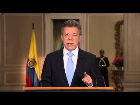 Alocución del Presidente de la República, Juan Manuel Santos - 20 de noviembre