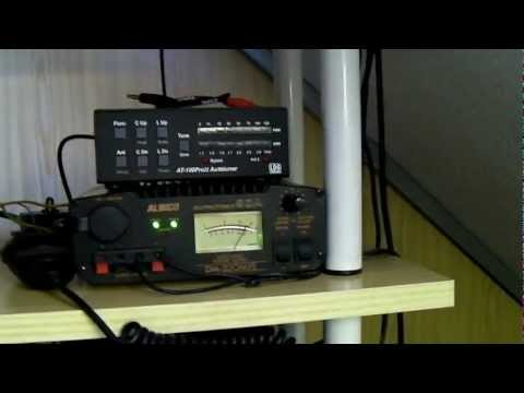 01 Acoplando FT-857D Y LDG AT-100 / TUNER LDG AT-100 and FT-857D