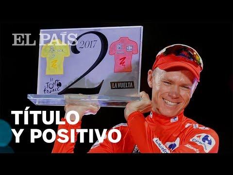 Ciclismo: Positivo de Froome en la Vuelta a España que ganó | Deportes