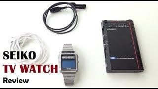 Seiko TV Watch Review - VintageDigitalWatches Ep 39