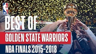 Best of the Golden State Warriors! | NBA Finals 2015-2018