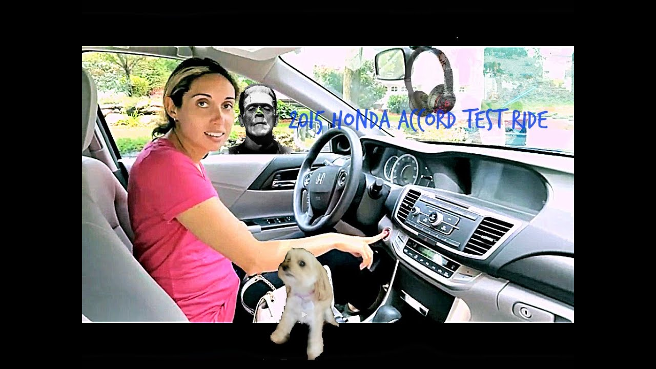 Test driving 2014 Honda Accord/2015 Mercedes