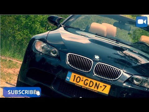 BMW M3 Convertible E93 Review (English Subtitles)