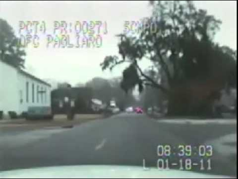 SAVANNAH, GA - Shots Fired Dashcam Footage