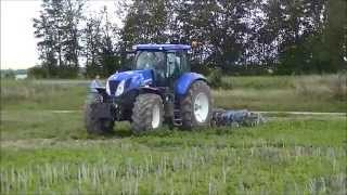 TEST New Holland: t7.250 - t7.200. Minimum Tillage in France 2014