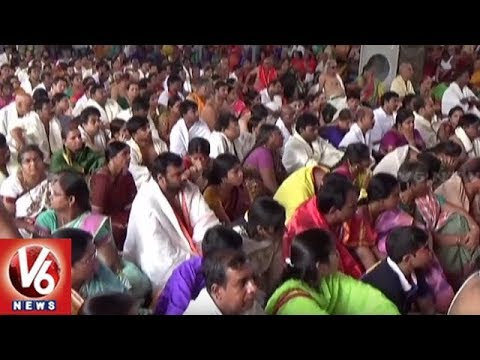 Devotees Throng Temples On Tholi Ekadasi Across Telangana State | V6 News