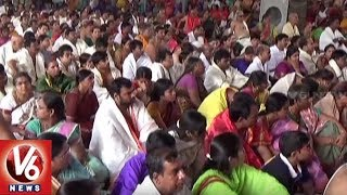 Devotees Throng Temples On Tholi Ekadasi Across Telangana State