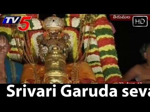 Srivari Garuda Seva In Tirumala  - TV5