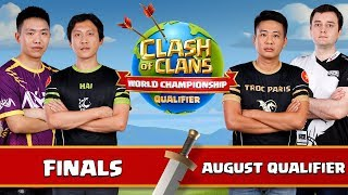 World Championship - August Qualifier - Finals - Clash of Clans