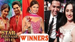 STAR Parivaar Awards 2014 | 29th June 2014 Full Show | WINNERS List - EXCLUSIVE Event