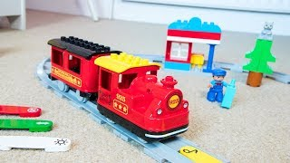 The 2018 LEGO Duplo Steam Train Set 10874! Review and Easy Instructions Video - Activity Ideas & DIY