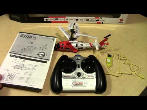 Syma S111g Rc Helicopter   What Comes In The Box