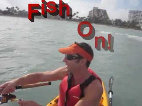 Kayak Fishing - Ladyfish
