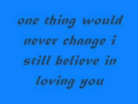 Sarah Geronimo - I Still Believe In Loving You