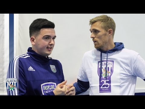 Darren Fletcher introduces The Chris Winston Story as Albion Foundation celebrates 25th anniversary