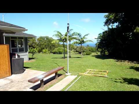 AV640 Ham antenna in Hawaii