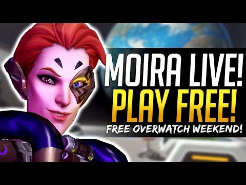 Overwatch MOIRA RELEASE TODAY? Play Overwatch for FREE this weekend