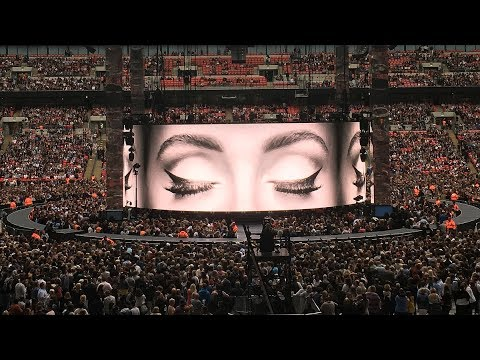 Adele Finale 2017 Wembley Stadium - Skyfall, Make you feel, Rolling in the deep, Someone like you