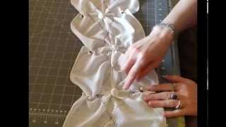 The Making of a Shibori Scarf: Applying Nui Resists, Part 3 of 3 (Episode 4)
