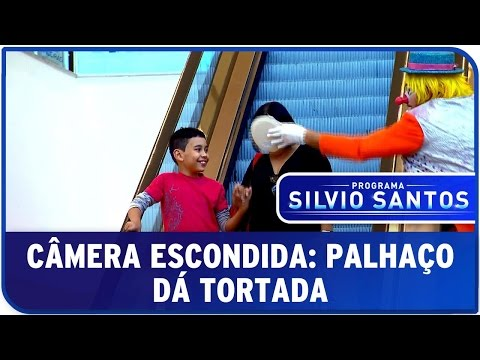 Câmera Escondida: Palhaço Dá Tortada I [Clown Prank - SBT]