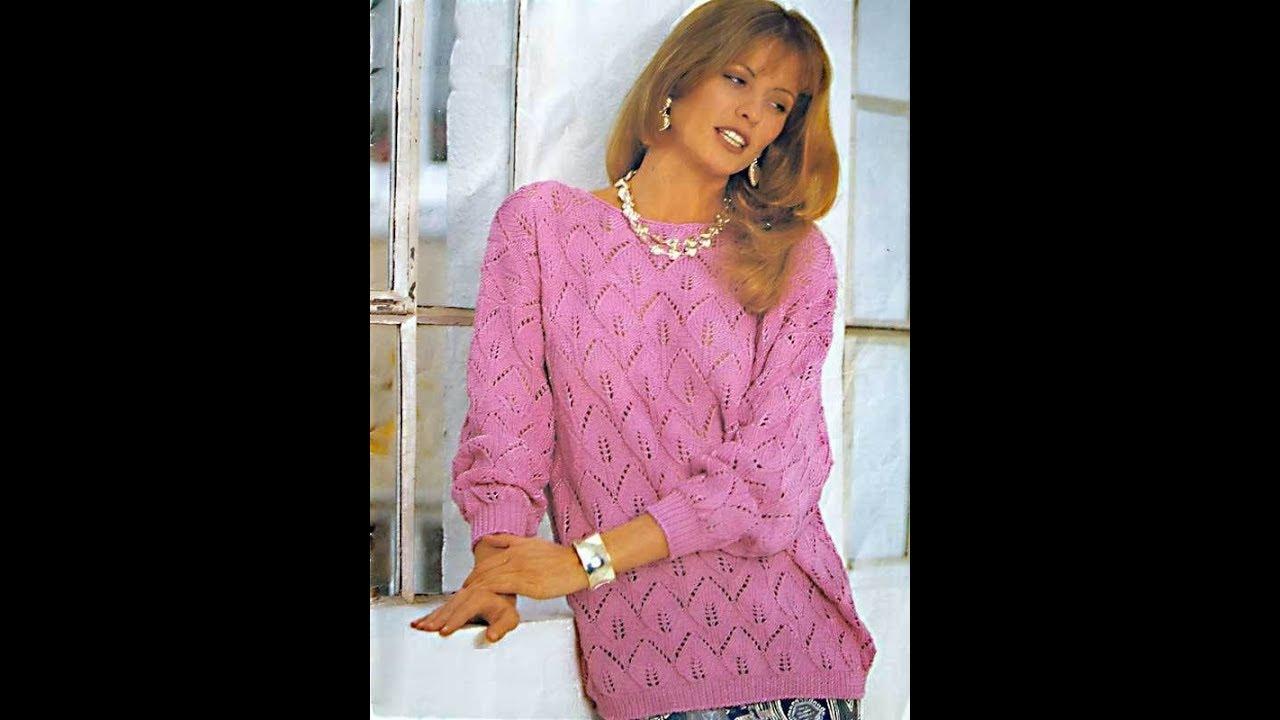 Вязание спицами для женщин модные модели с описанием Постила