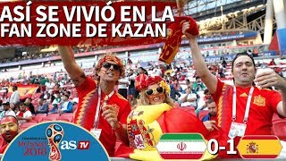 download musica Irán 0-1 España Así se vivió el partido en la Fan Zone de Kazán Diario AS
