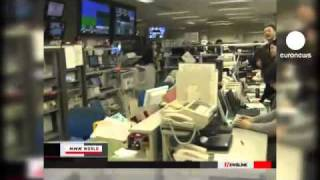 Huge earthquake hit Japan   8.9