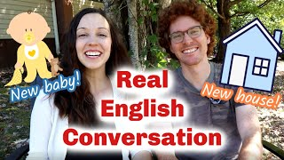 Real English Conversation: Big Life Changes