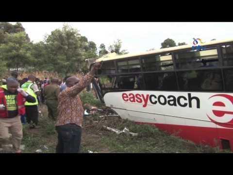 Sachangwan accident: Collision between matatu and bus kills 8 people