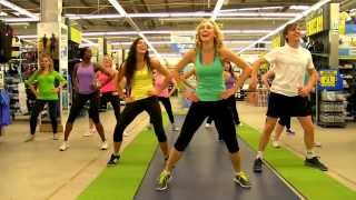Zumba Fever Crew - Decathlon Show 2 - Marilena Nicolaou - Dance Fitness Workout Toning & Sentao
