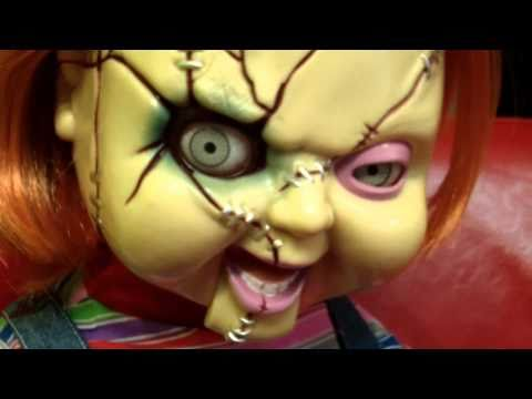 Chucky SCARY Animated Life-Size Talking Doll by Mike Mozart of TheToyChannel