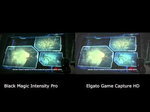 Black Magic vs Elgato Game Capture HD Quality Comparison