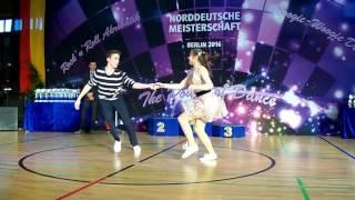 Theresa Sommerkamp & Elian Preuhs - Norddeutsche Meisterschaft 2016