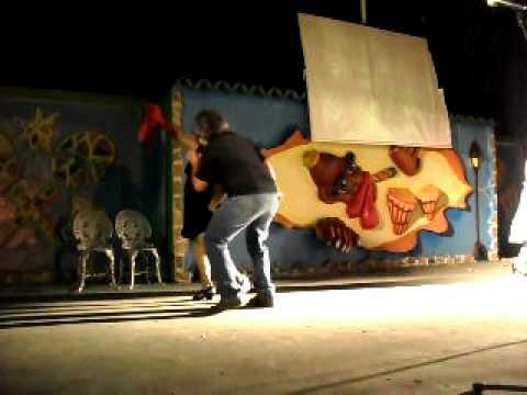 CUECA CHORA EN LA NOCHE SUDAMERICANA CIJAN CUBA 2012