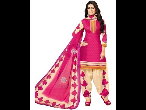 Latest Patiyala Dress Designs-2018