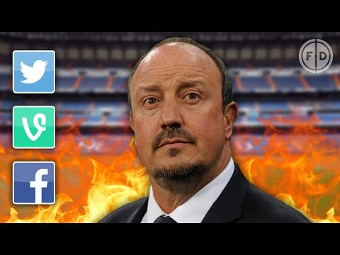 Rafa Benitez SACKED by Real Madrid   Internet Reacts