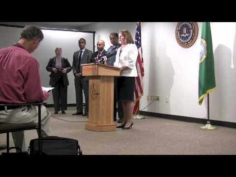 On August 28, 2012 the Seattle FBI office in conjunction with the Department of Justice and the Seattle Police Department held a press conference to announce...