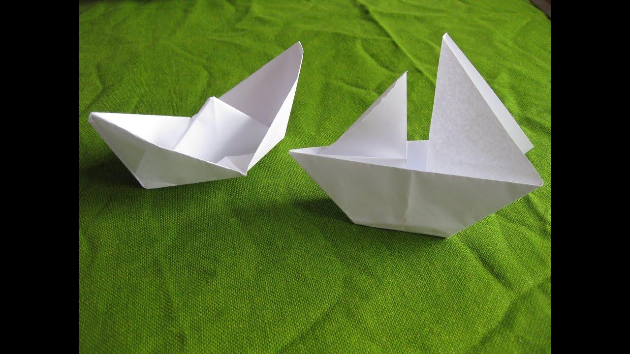 Бумаги своими руками корабликами
