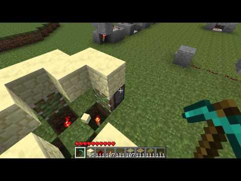 Minecraft - Les MDC 37 Un bouton pour plusieurs actions