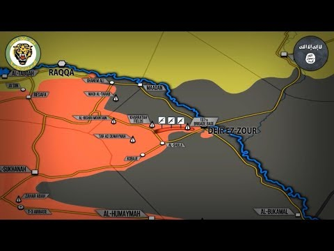 5 сентября 2017. Военная обстановка в Сирии. Сирийская армия при поддержке РФ прорвала блокаду ИГИЛ.