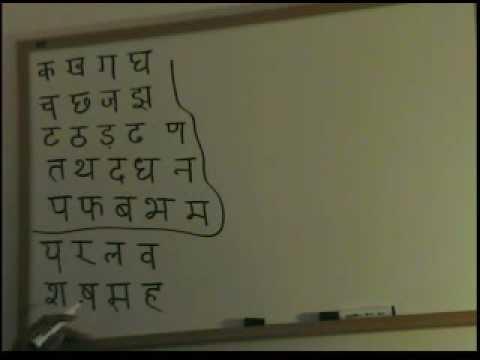 Hindi Alphabet lesson (Part 3)