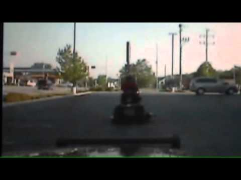 Man arrested driving lawn mower throught town drunk