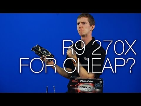 R9 270 vs R9 270X AMD Radeon - Product Showcase