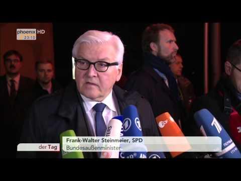 Ukraine-Treffen: Erwartungen von Frank-Walter Steinmeier am 21.01.2015