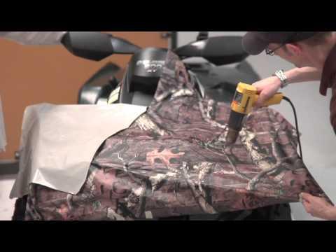 Mossy Oak Graphics ATV Camo Kit Installation Instructions