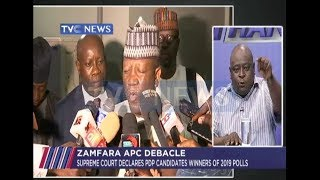 Supreme court declares PDP candidates winners of 2019 elections in Zamfara state