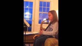 Nika: practice alto sax