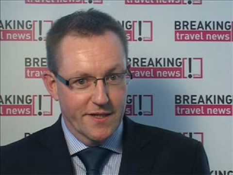 Clive Wratton, UK Country Manager, Etihad Airways @ WTM 2008