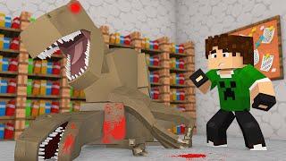 Minecraft: DINOSSAURO ASSASSINO ?! - ARK CRAFT #6