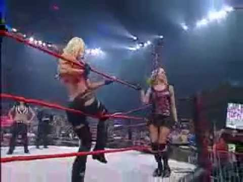 The Beautiful People & Awesome Kong vs. Taylor Wilde, Gail Kim & ODB